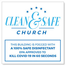 Clean and Safe Church