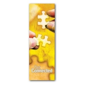 Get Connected 2' x 6' Banner