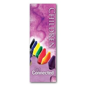 Get Connected - Children 2' x 6' Banner