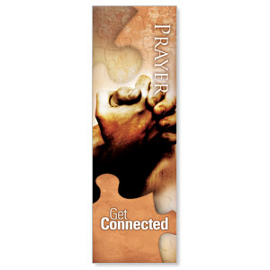 Get Connected Prayer 2' x 6' Banner