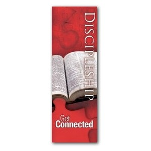 Get Connected Discipleship 2' x 6' Banner