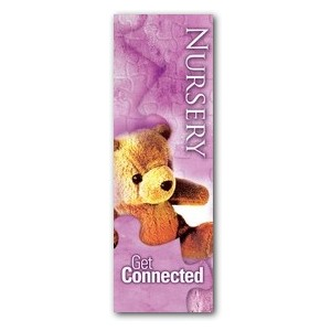 Get Connected Nursery 2' x 6' Banner