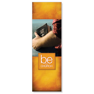 Be the Church Gold 2' x 6' Banner