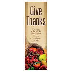 Thanksgiving 2' x 6' Banner