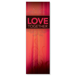 Together Love 2' x 6' Banner
