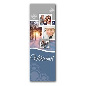 Winter Path 2' x 6' Banner
