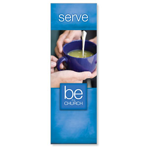 Be The Church Serve 2' x 6' Banner