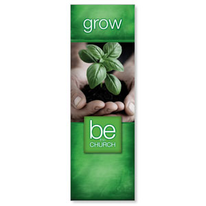 Be The Church Grow 2' x 6' Banner