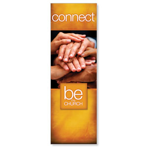 Be the Church Connect 2' x 6' Banner