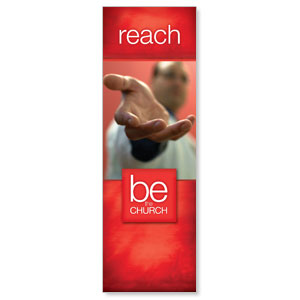 Be The Church Reach 2' x 6' Banner