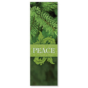 Together for the Holidays Peace 2' x 6' Banner