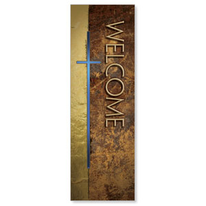 Leather Welcome  2' x 6' Banner