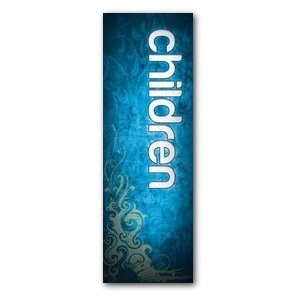 Adornment Children 2' x 6' Banner