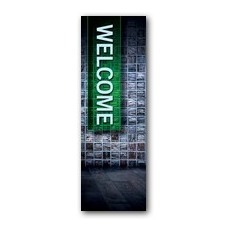 Tiles Welcome Banner