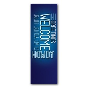Words Welcome Banners
