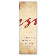 Jesus Triptych M Banner