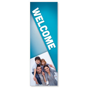 Family Welcome 2' x 6' Banner