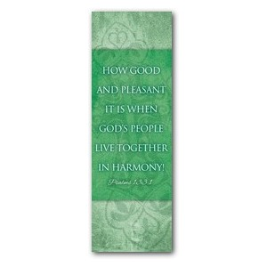 Cross Ps 133:1 2' x 6' Banner