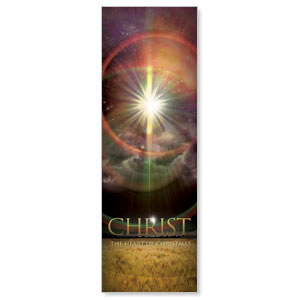 Christ the Heart 2' x 6' Banner