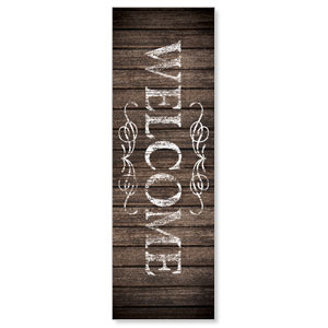 Rustic Charm Welcome Banners
