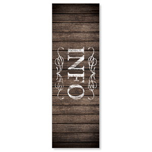 Rustic Charm Info Banners