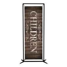 Rustic Charm Children Banner