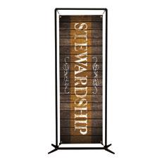Rustic Charm Stewardship Banner