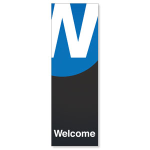 Metro Welcome 2' x 6' Banner