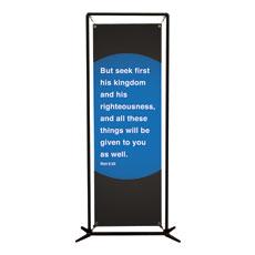 Metro Matt 6:33 Banner
