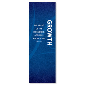 Flourish Growth 2' x 6' Banner