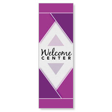 Welcome Diamond Purple