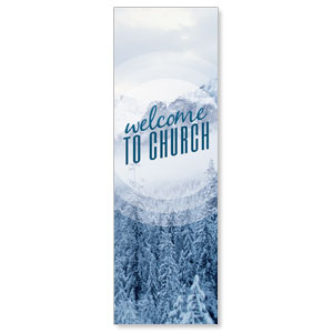 Season Welcome Snow Banners