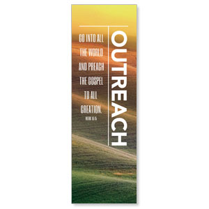 Phrases Outreach 2' x 6' Banner