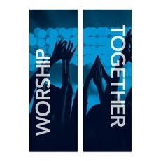 Worship Together Pair Banner