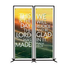 We Will Rejoice Banner