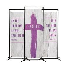 Easter Wood Banner