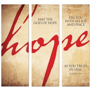 Hope Triptych  Banners