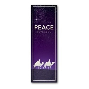 Peace Revealed 2' x 6' Banner