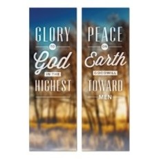 Glory and Peace Banner