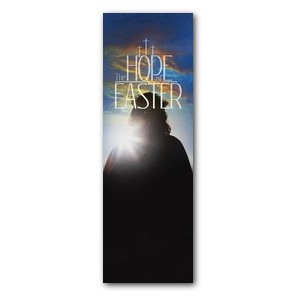 Hope of Easter 2' x 6' Banner