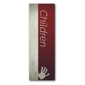 Color Block Children 2' x 6' Banner
