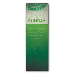 Color Block Palm Sunday 2' x 6' Banner