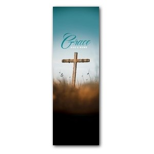 Grace Has A Name M 2' x 6' Banner
