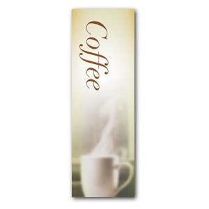 Traditions Coffee 2' x 6' Banner