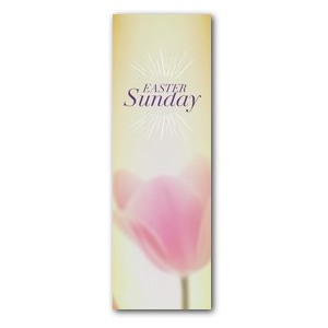 Traditions Easter Sunday 2' x 6' Banner