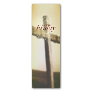 Traditions Good Friday 2' x 6' Banner