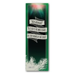 Hand Drawn Ribbon Palm Sunday Banners