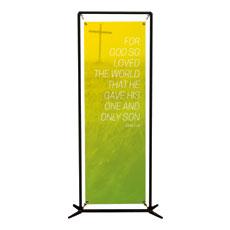 Color Wash John 3:16 Banner