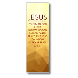 Advent Luke 2 Jesus 2' x 6' Banner