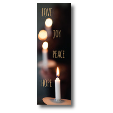 Candle Advent Words